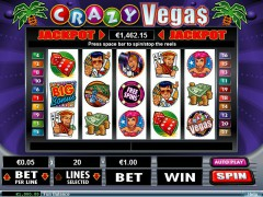 Crazy Vegas slots-77.com RealTimeGaming 1/5