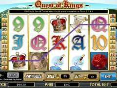 Quest of Kings slots-77.com CryptoLogic 5/5