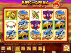 King of Africa slots-77.com William Hill Interactive 1/5