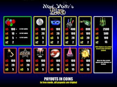 New Year's Eve slots-77.com Leander Games 2/5