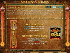 Valley of the Kings slots-77.com Genesis Gaming 2/5