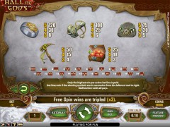 Hall Of Gods slots-77.com NetEnt 2/5