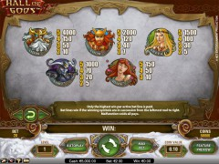 Hall Of Gods slots-77.com NetEnt 3/5