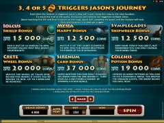 Jason And The Golden Fleece slots-77.com Quickfire 2/5