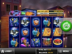 Jazz of New Orleans slots-77.com Play'nGo 1/5