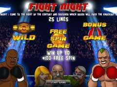 Fight Night slots-77.com World Match 1/5
