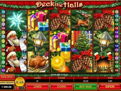 Deck the Halls slots-77.com Microgaming 1/5