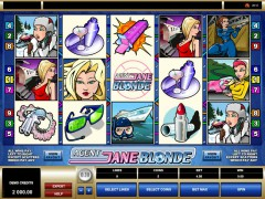 Agent Jane Blonde slots-77.com Microgaming 1/5