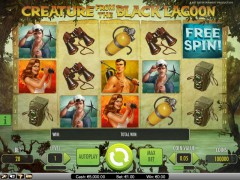 Creature from the Black Lagoon slots-77.com NetEnt 2/5