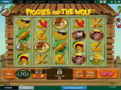 Piggies and the Wolf - Playtech