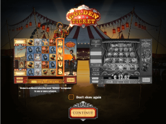 Golden Ticket slots-77.com Play'nGo 1/5