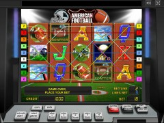 American Football slots-77.com Greentube 4/5