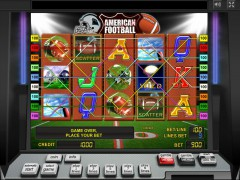 American Football slots-77.com Greentube 5/5