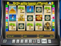Golden Treasure of Pharaoh slots-77.com Gaminator 1/5