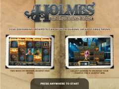 Holmes and the Stolen Stones - Yggdrasil Gaming
