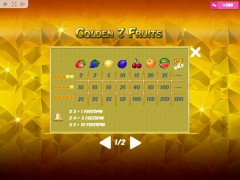 Golden7Fruits slots-77.com MrSlotty 5/5