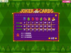 Joker Cards slots-77.com MrSlotty 5/5