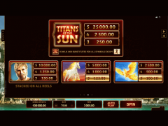 Titans of the Sun Hyperion slots-77.com Microgaming 4/5