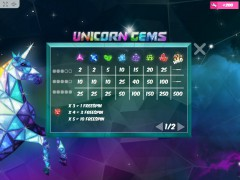 Unicorn Gems slots-77.com MrSlotty 3/5