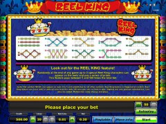 Reel King slots-77.com Novomatic 3/5